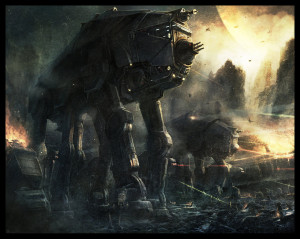 Imperial_Walker_by_Radojavor